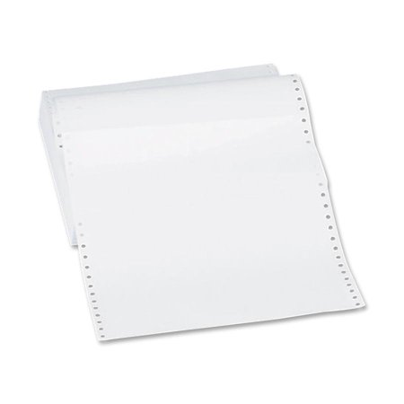 Sparco, SPR62447, Continuous-form Blank Computer Paper, 4800 / Carton, White