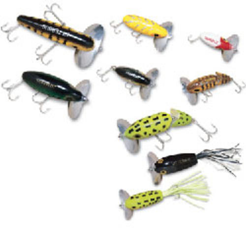 Arbogast Lure Company Jitterbug Fishing Lure (2 1 2-Inch-6.35-cm, Black) Multi-Colored by ARBOGAST LURE COMPANY