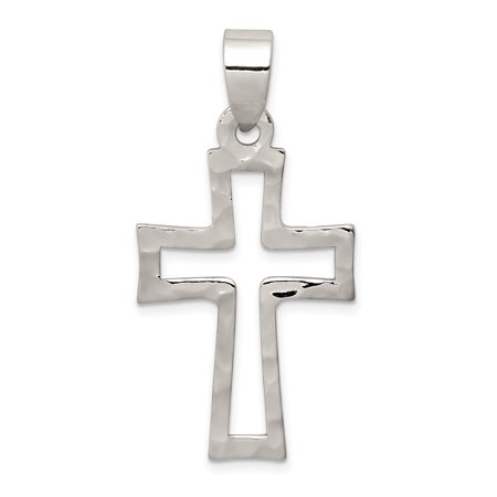 Sterling 925 Charm Pendant - 925 Sterling Silver Cross Religious Pendant Charm Necklace Latin For Women
