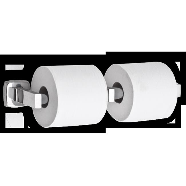 AJW UX142-BF Dual Bright Toilet Tissue Dispenser - Surface Mounted