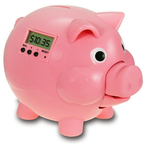 The Learning Journey Pig E-Bank - Pink Edition with LCD