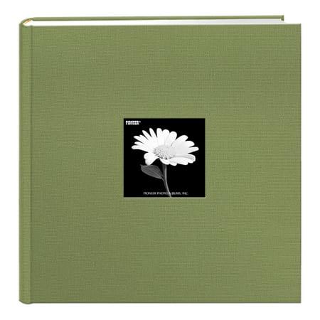 Pioneer Fabric 500 pkt 4x6 Photo Album, Sage Green