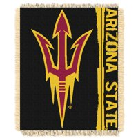 "Arizona State Sun Devils The Northwest Company College Double Play 46"" x 60"" Woven Blanket - No Size"