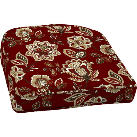 Better Homes And Gardens Outdoor Wicker Seat Cushions Red