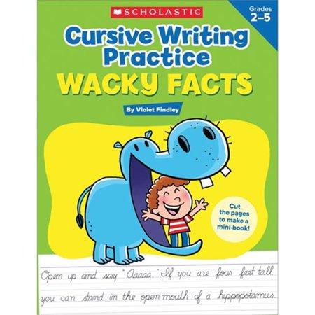 Scholastic Teaching Resources SC-594317 Handwriting Practice Cursive - image 1 of 1