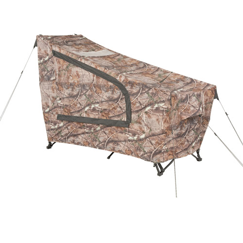 Ozark Trail Instant Tent Cot with Realtree AP Camo Rainfly, Sleeps 1