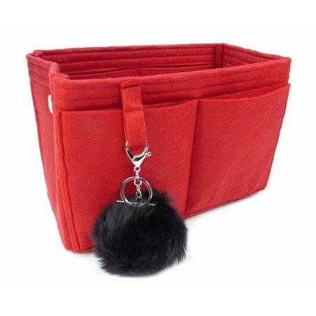 felt handbag organizeroriginal club - lv neverfull mm - style 2