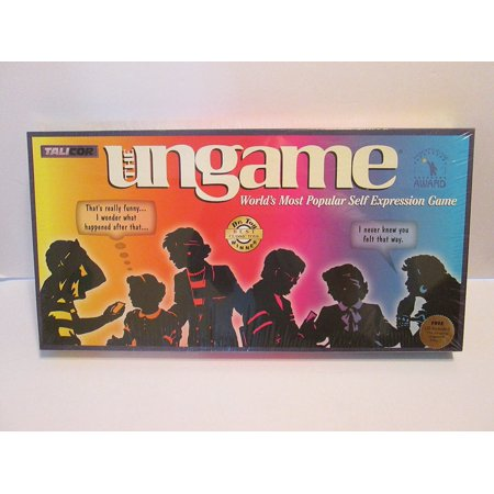 2002 Playoff Game - The Ungame 2002 Edition, One board game By Talicor Inc Ship from US