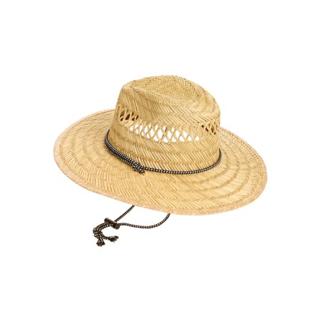 Men's George Straw Lifeguard Hat - Colonial Hats For Men