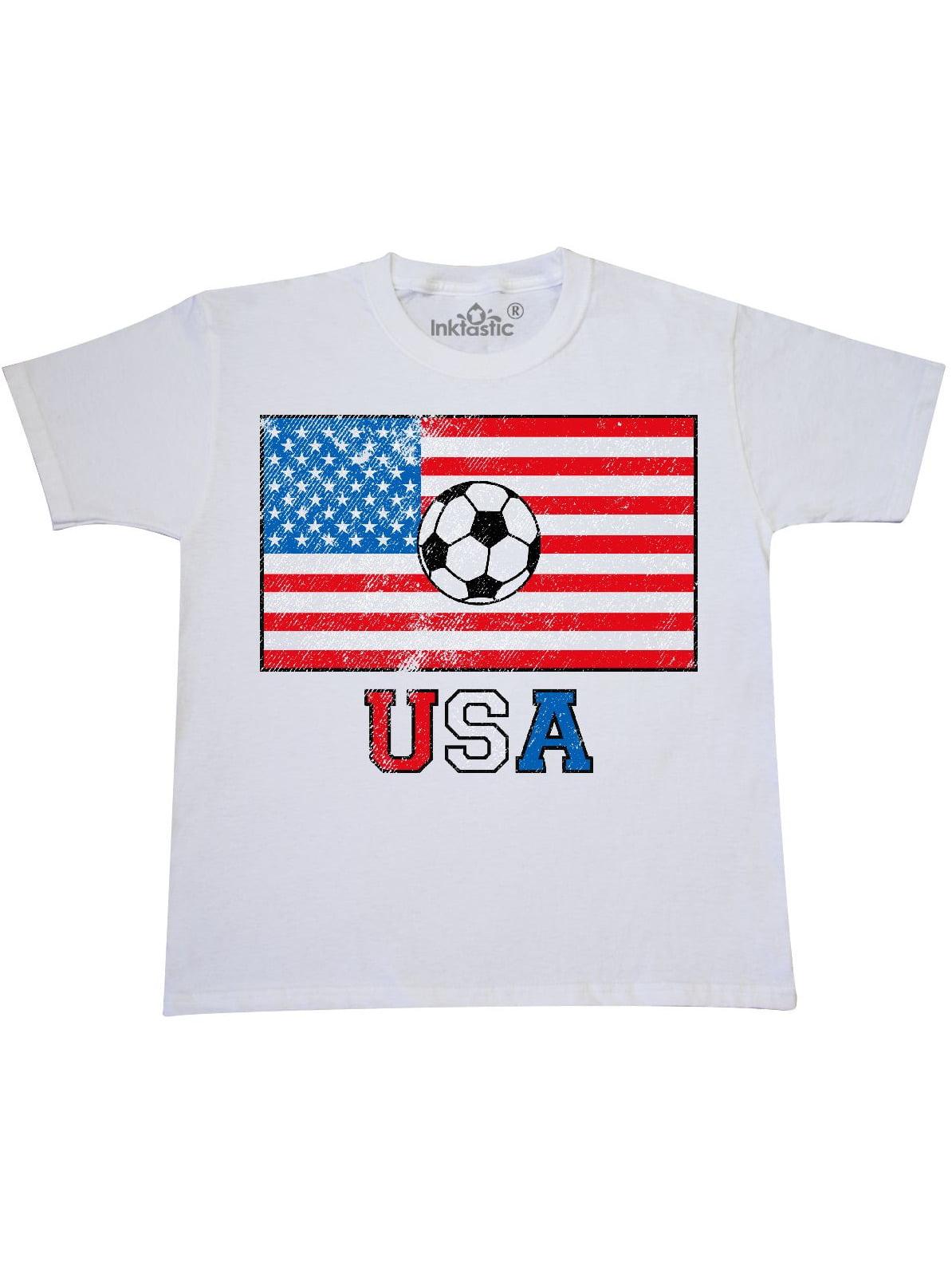 Inktastic USA Soccer Toddler T-Shirt American America United States Futbol Fan