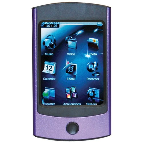 Eclipse USB 2.0 2.8V 4GB Digital Touchscreen MP3 Media Player w/ Camera