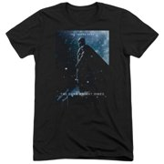 Dark Knight Rises Batman Poster Mens Tri-Blend Short Sleeve Shirt