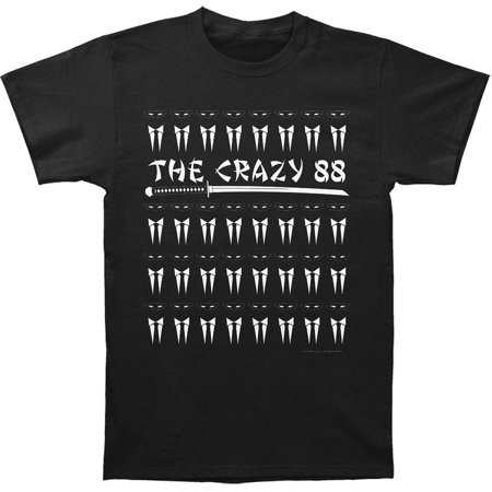 - kill bill action revenge movie the crazy 88 adult fitted jersey t-shirt tee