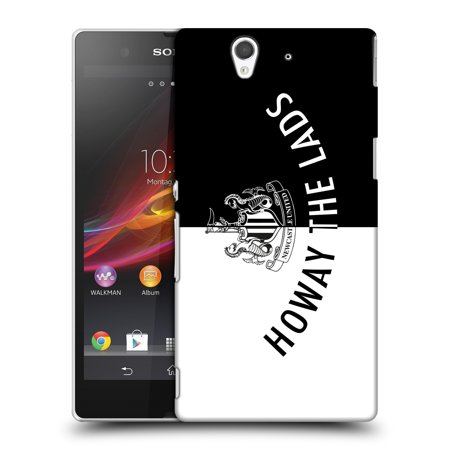 Official Newcastle United Fc Nufc Howay The Lads Tunnel Sign Hard Back Case For Sony Phones 3