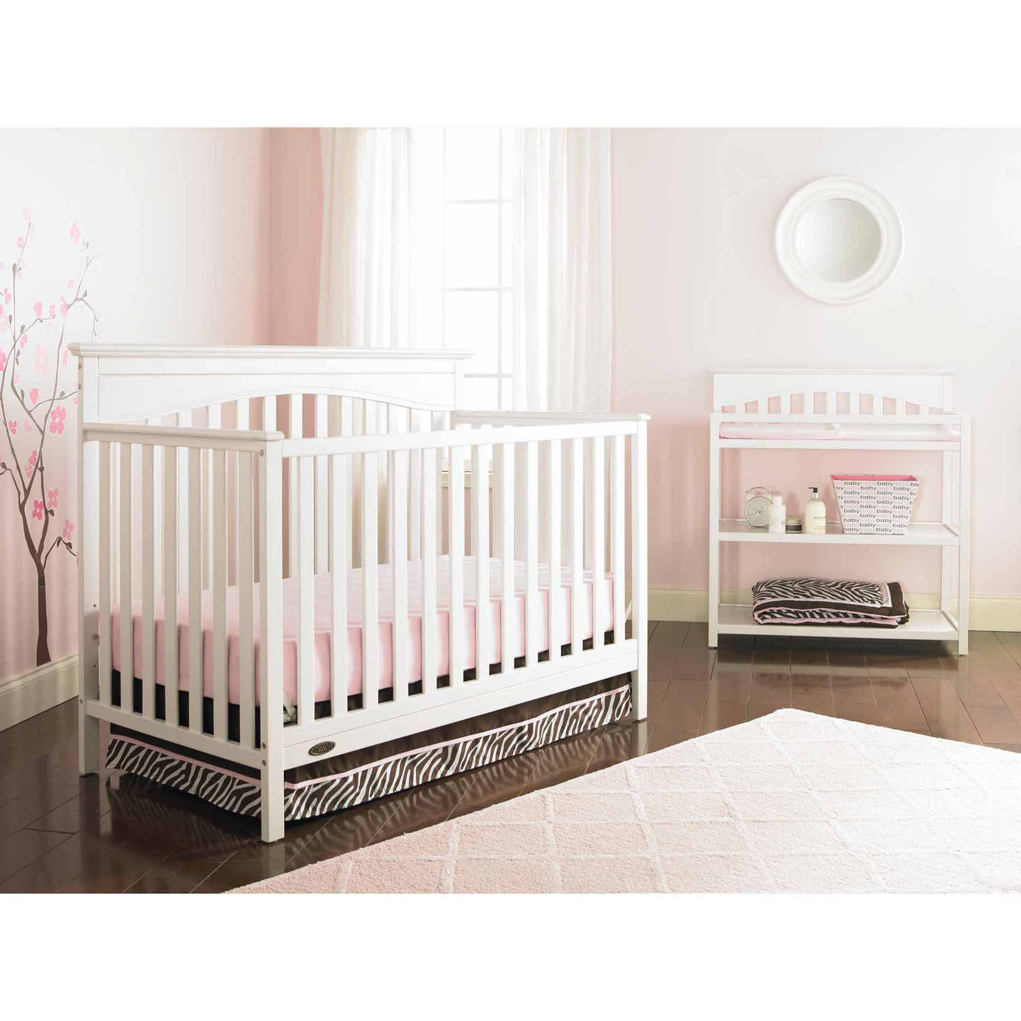 Graco Hayden 4-in-1 Convertible Fixed-Side Crib, Choose Your Finish