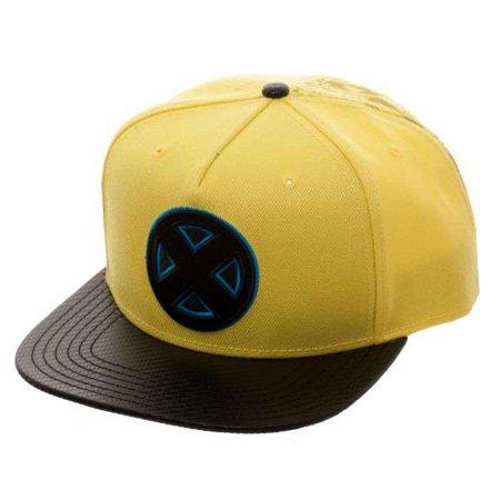 Marvel X-Men Carbon Fiber Snapback Cap - Carbon Fiber Top Cap