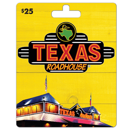 Texas Roadhouse $25 Gift Card ()