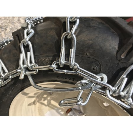Snow Chains 18 X 8.50 X 8 , 18  8.50  8  Heavy Duty V-BAR Tire Chains Set of 2 - image 2 of 5