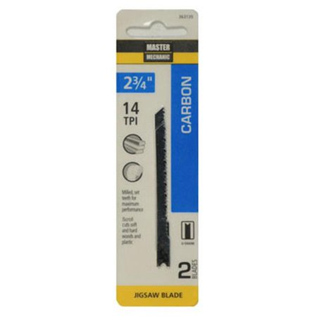Disston 363135 2.75 in. 14 Tooth Jigsaw Blade - 2 Per Pack - image 1 de 1