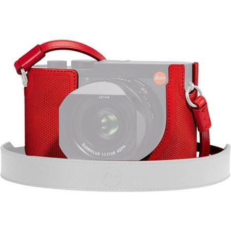 Leica Leather Protector for Q2 Digital Camera - Red