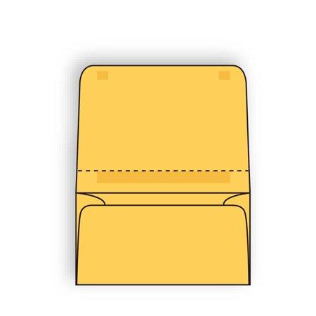 Open Side Dual Purpose Mailer Envelopes 4-1/4