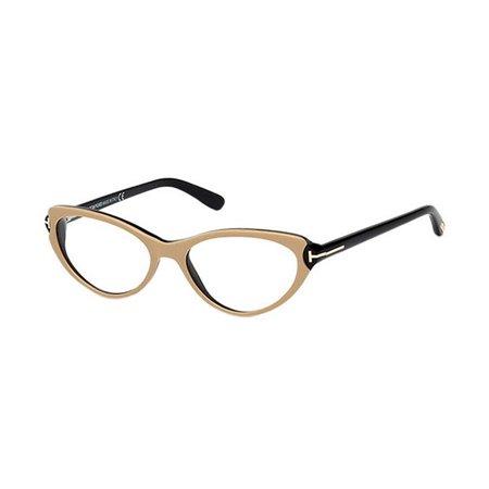 Tom Ford FT5285 074 Women's Full-Rim Plastic Cat-Eye