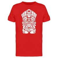 Hawaiian Tiki God Statue Tee Men's -Image by Shutterstock