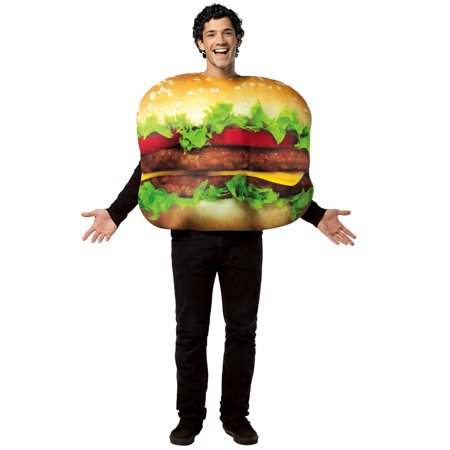 Cheeseburger: Unisex Costume - Cheeseburger Costumes