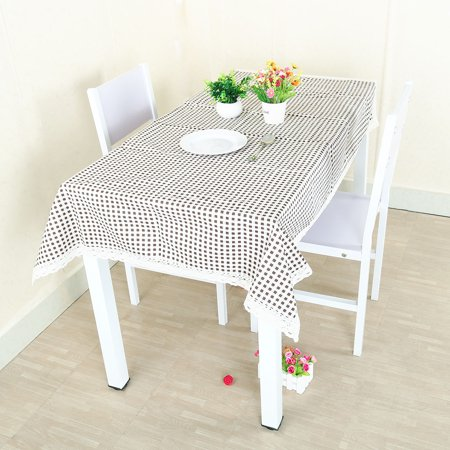 Cotton Linen Tablecloth Table Cover Vintage Pattern Washable Table cloth