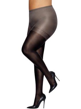 f14694b6f33 Womens Plus Hosiery   Tights - Walmart.com
