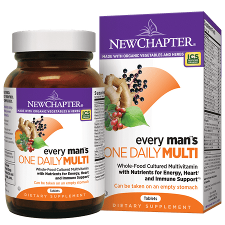 New Chapter Every Man One Daily Whole Food Multi Tablets, 24