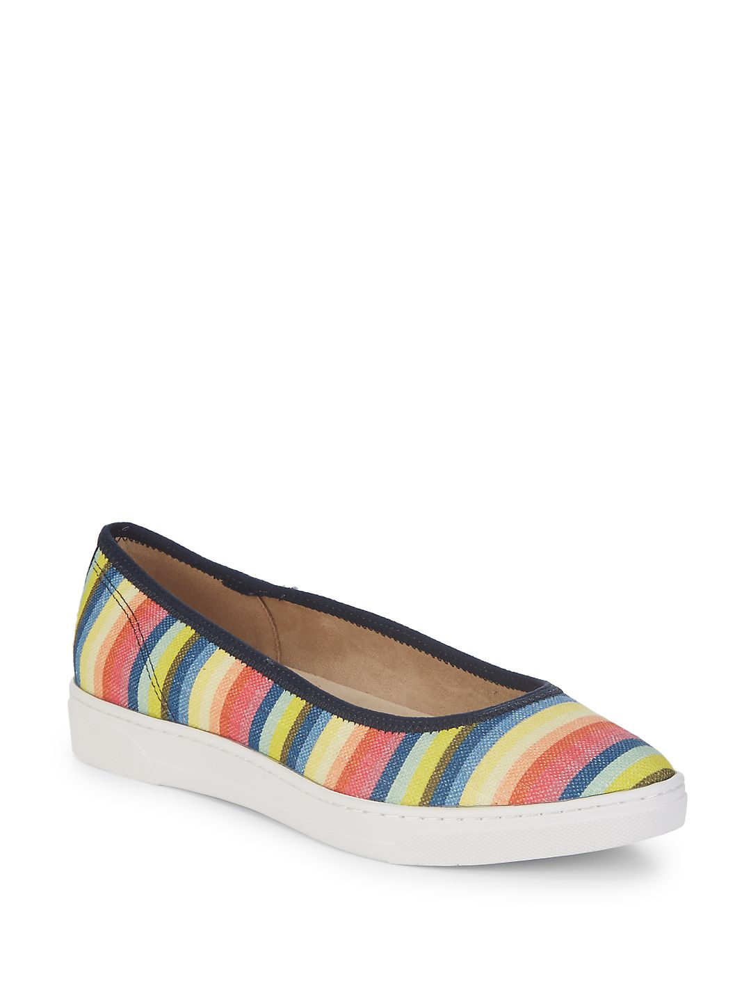 Over The Top Stripe Sneakers