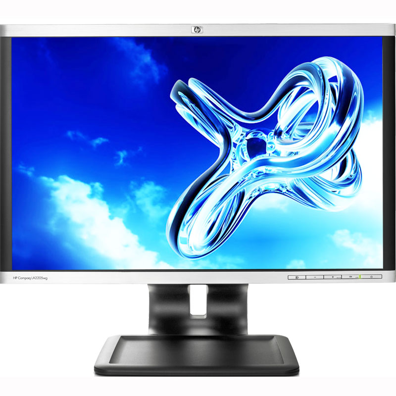 "Refurbished HP LA2205WG 1680 x 1050 Resolution 22"" WideScreen LCD Flat Panel Computer Monitor Display"