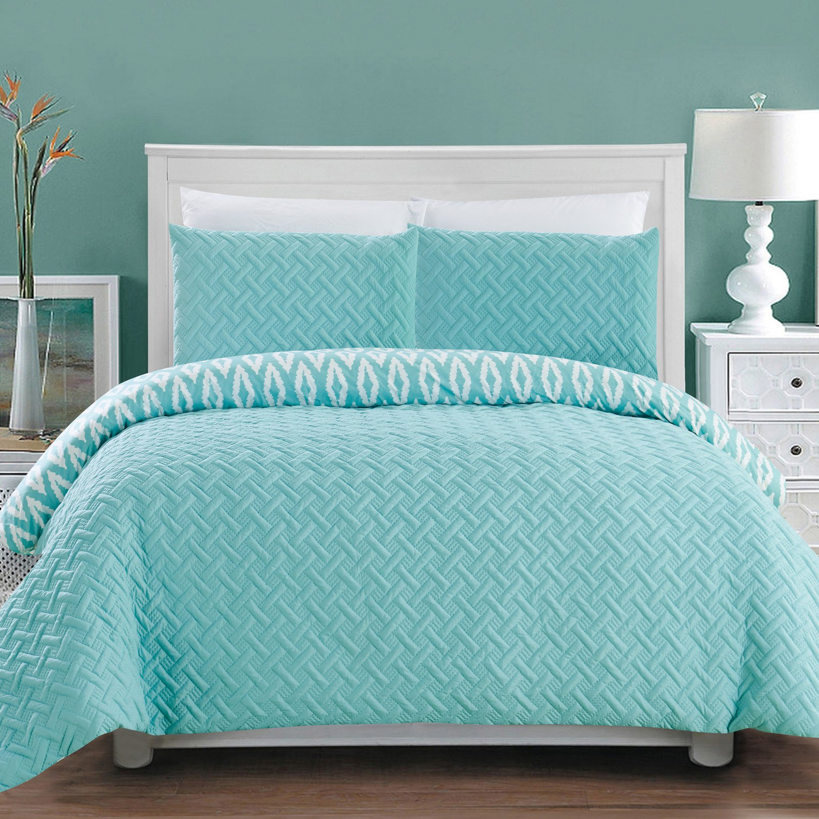 3 Piece Sabina Comforter Set by Chic Home