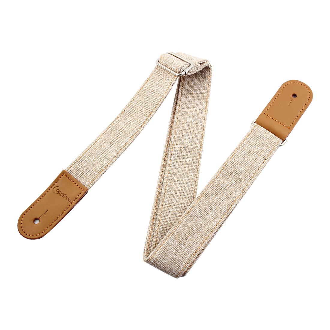 Faux Leather End Adjustable Ukulele Strap Belt