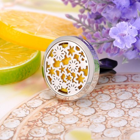 Flower Patch Perfume Aromatherapy Car Essential Oil Diffuser Car Vent Clip