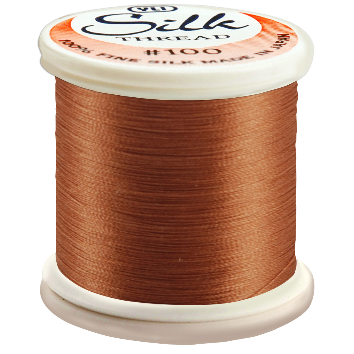 Silk Thread 100wt 200m - Light Cinnamon