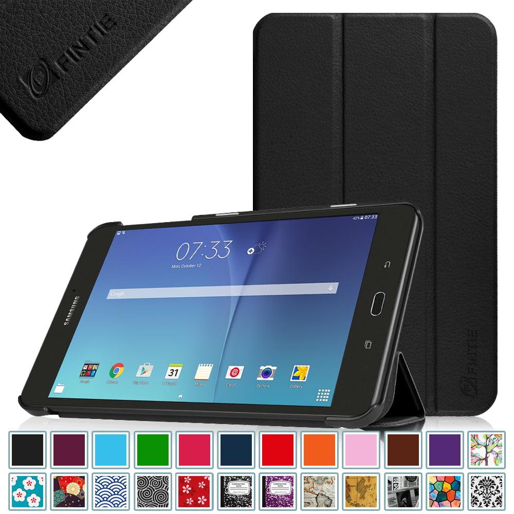 Fintie Samsung Galaxy Tab E 8.0 SlimShell Case - Slim Lightweight Standing Cover, Black