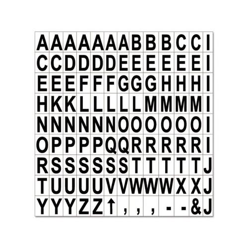 MasterVision Magnetic Letters BVCKT2220