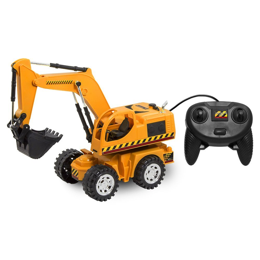 Kid Galaxy Remote Controlled Excavator by