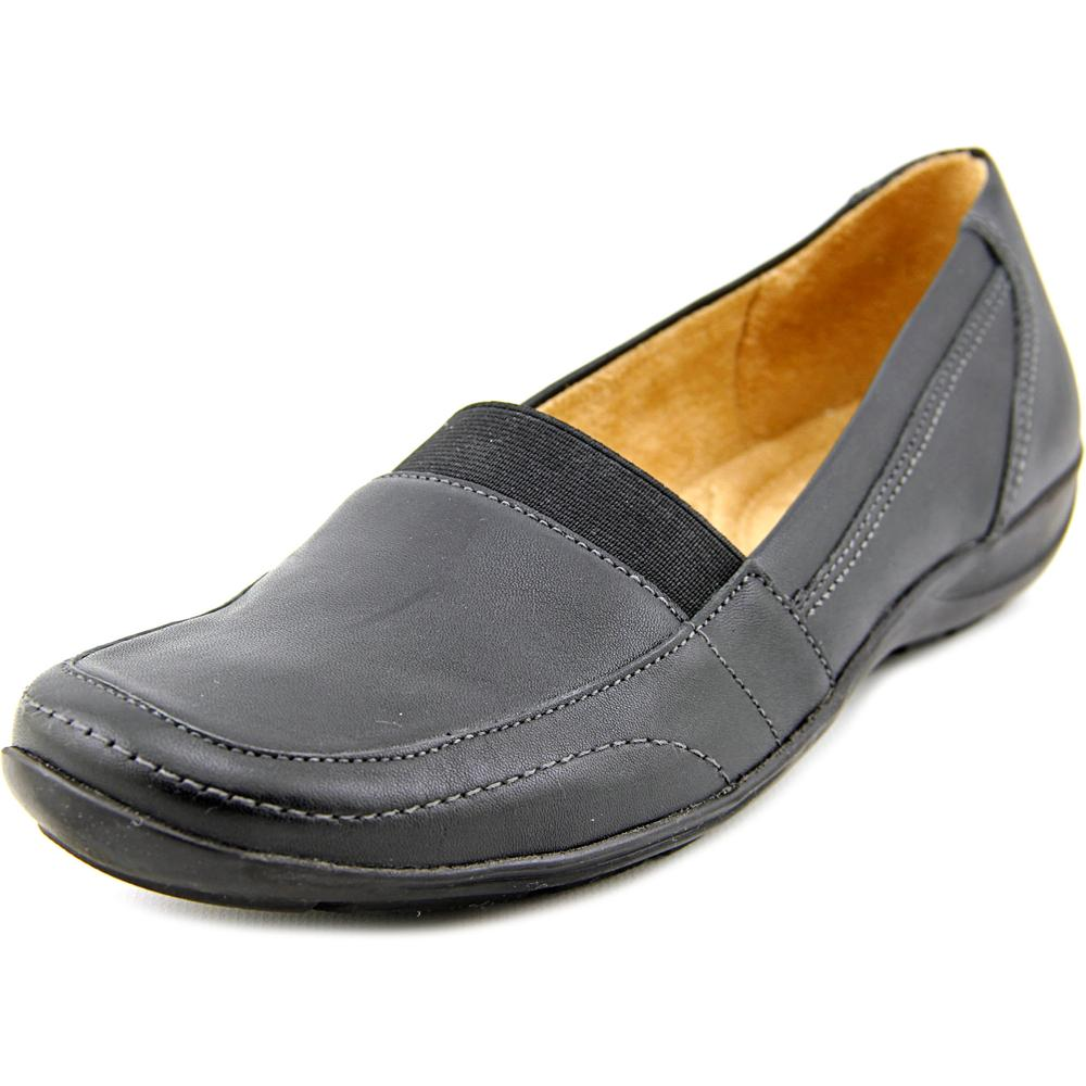 Click here to buy Naturalizer Fritz Women Square Toe Leather Loafer by Naturalizer.