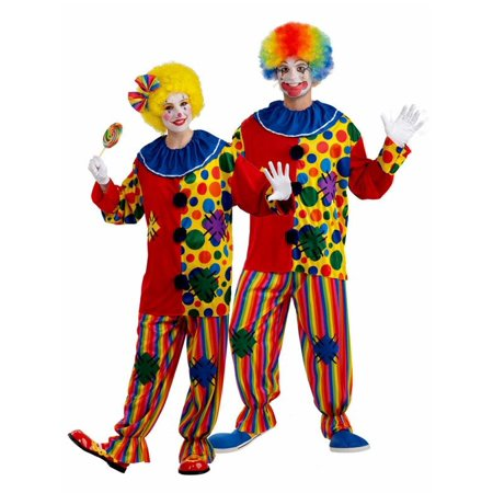 Big Top Clown Unisex Costume](Clown Shirts Costumes)