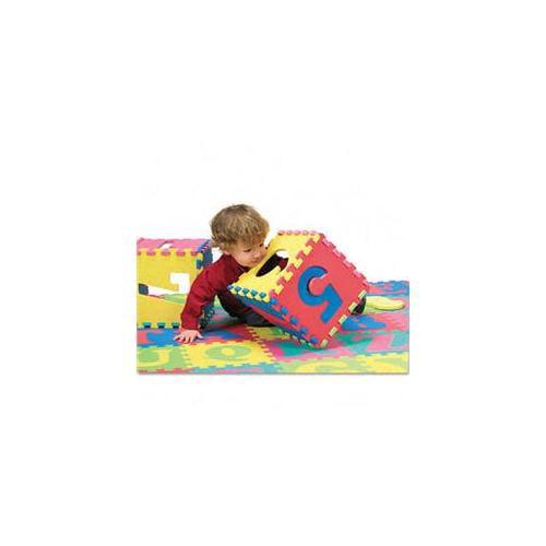 Chenille Kraft 4390 Wonderfoam Letters and Number Puzzle Mat  72 Pieces