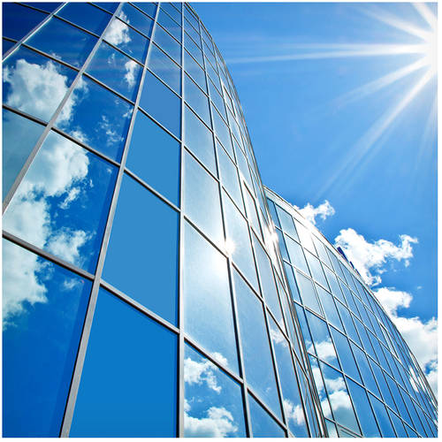 BDF HS15 Energy Saving and Heat Control Silver Window Film (Dark) 36in X 25ft by BuyDecorativeFilm