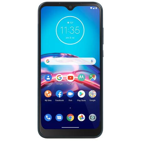 Straight Talk Motorola Moto E, 32GB Midnight Blue - Prepaid Smartphone