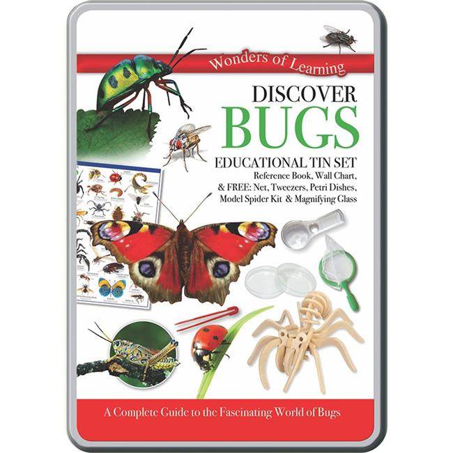 Round World Products RWPTS02 Discover Bugs Tin Set - image 1 de 1