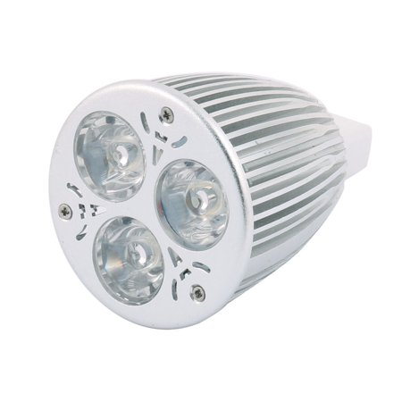 DC 12V 9W MR16 3 LEDs COB Spotlight Bulb Energy Saving Downlight Pure White