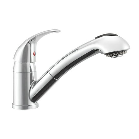 Dura Faucet Designer Pull-Out RV Kitchen Faucet - Chrome (Best Bumper Pull Rv)