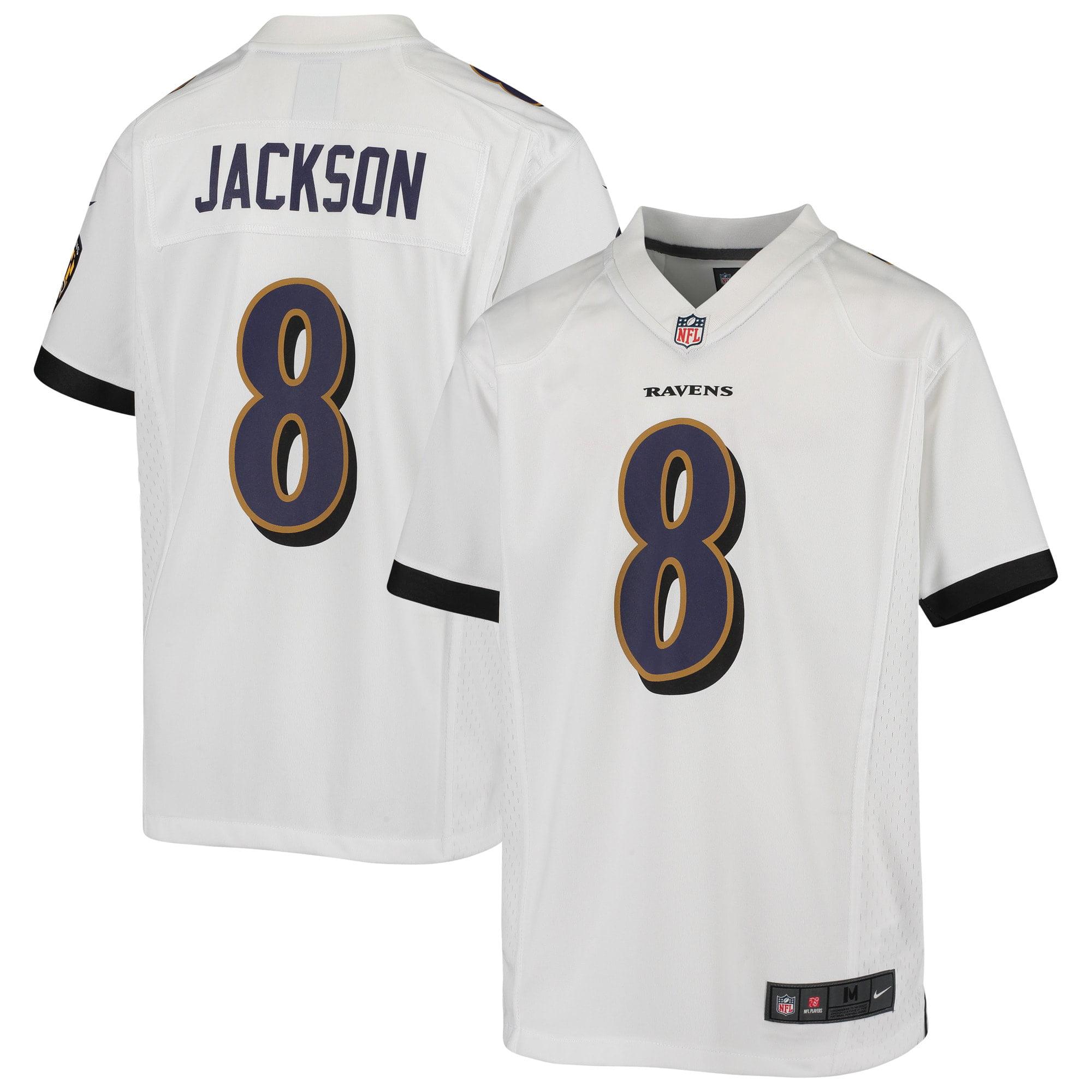 Lamar Jackson Baltimore Ravens Nike Youth Game Jersey - White - Walmart.com