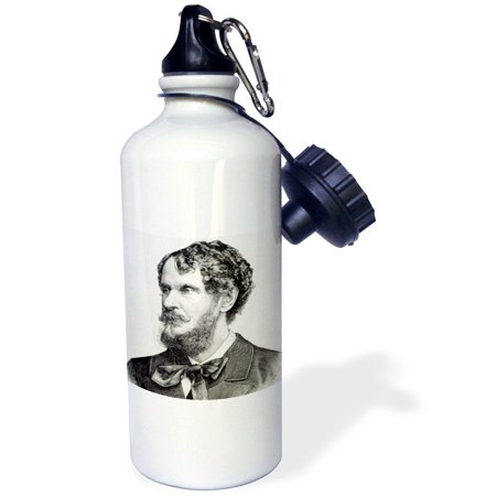 Hungarian Water - 3dRose Andrassy, Gyula, Count, Hungarian politician. Engraving - HI13 PRI0379 - Prisma, Sports Water Bottle, 21oz